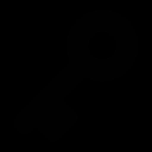 Keys PNG Black And White - 153901