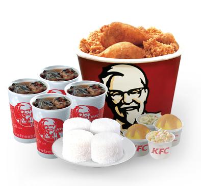 KFC Bucket Meal