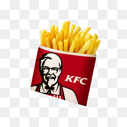 KFC fries, Element, French Fries, Red PNG Image - Kfc PNG
