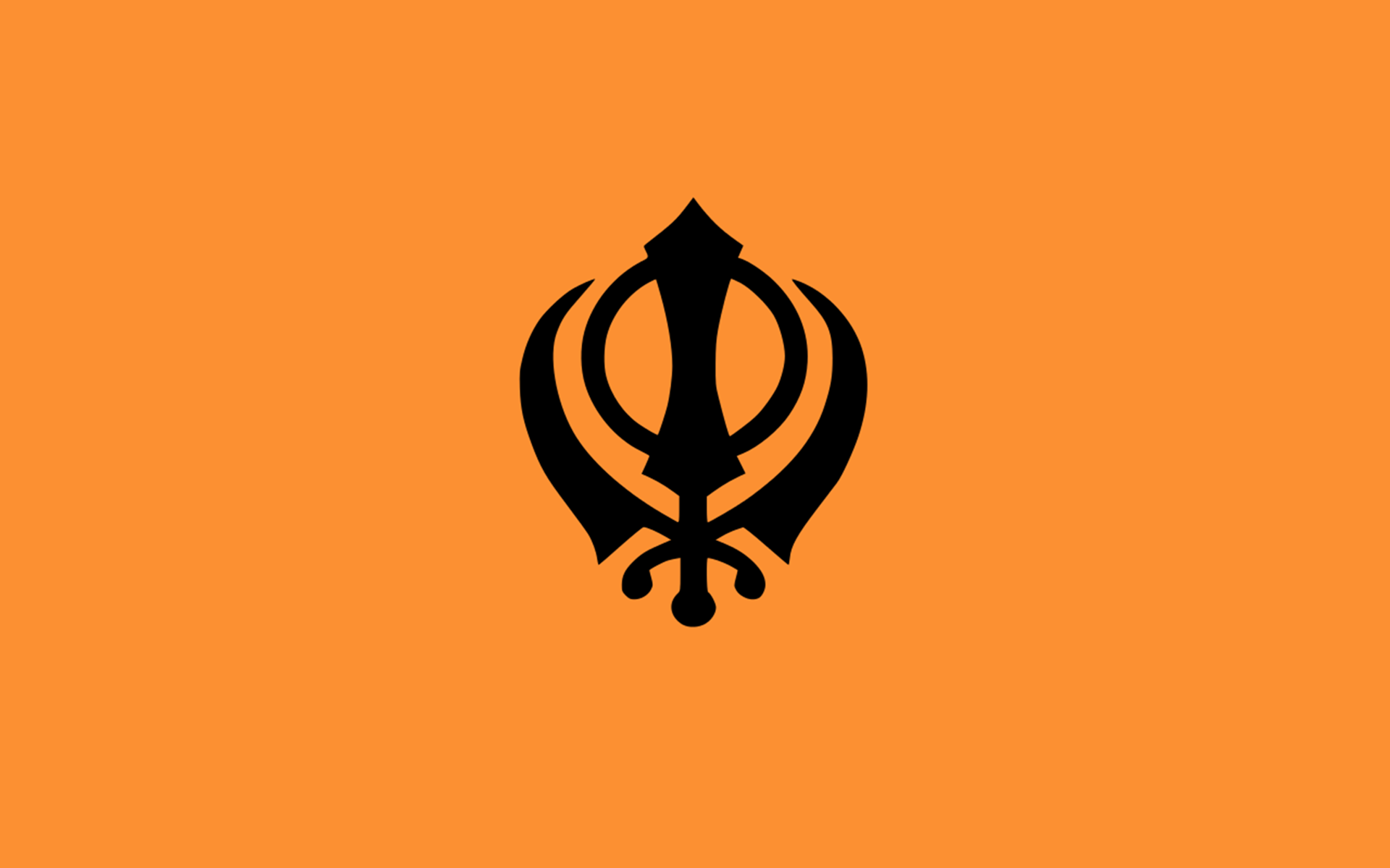 Sikh Symbol Khanda HD Wallpaper #01564 - Khanda HD PNG