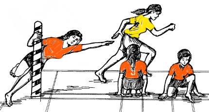 Kho Kho Game PNG
