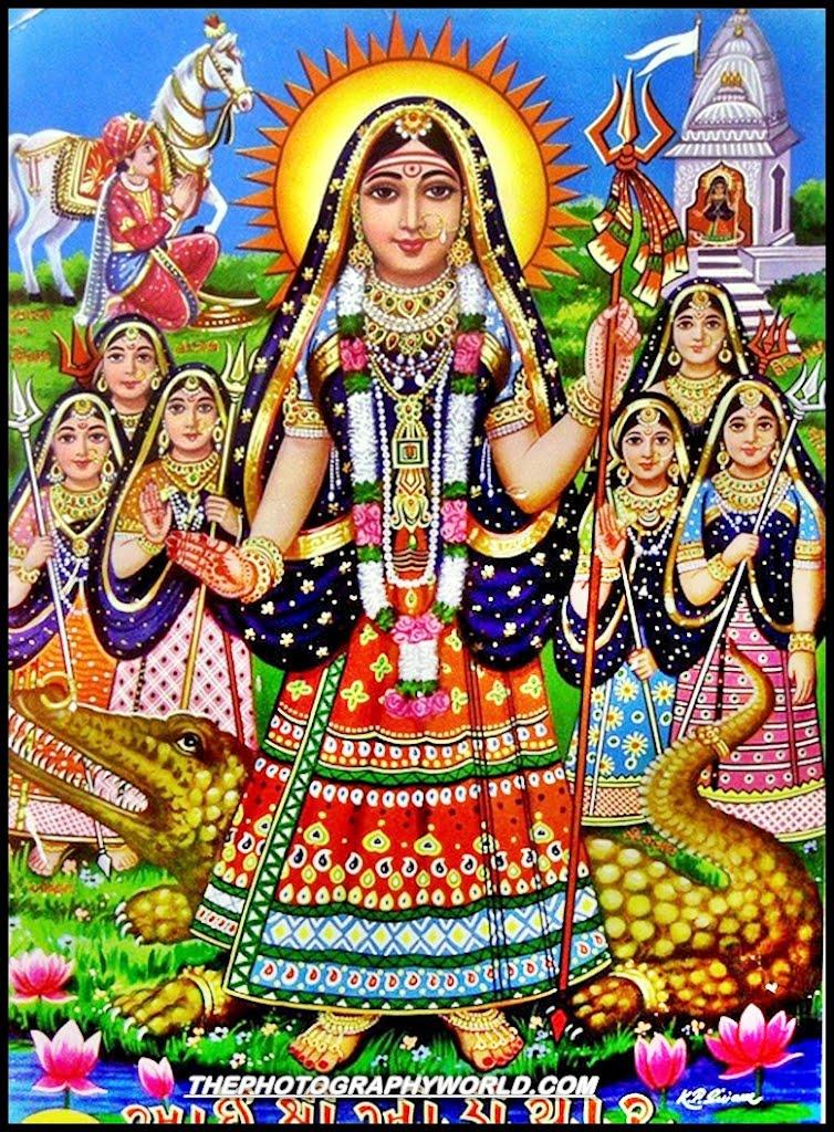 Jai Khodiyar Maa - Khodiyar Maa PNG