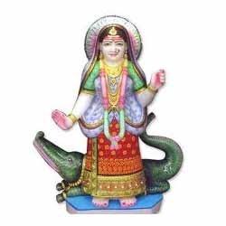 Maa Khodiyar Marble Statue - Khodiyar Mataji PNG