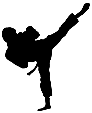 Part of the Integrity Martial Arts Taekwondo curriculum is technical kicks.  The ability to perform technical kicks is what earns you a green stripe for  your PlusPng.com  - Kick PNG Black And White
