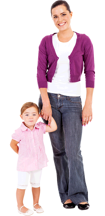 Kid And Mom PNG - 168634