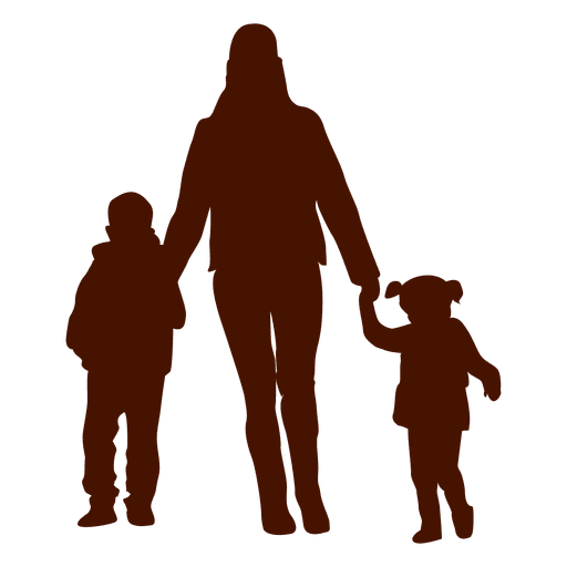 Kid And Mom PNG - 168624