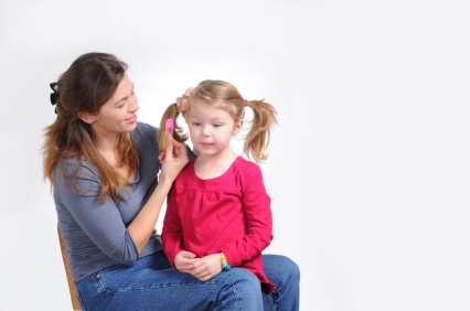 Cute Hairstyles for Girls - Kid And Mom PNG