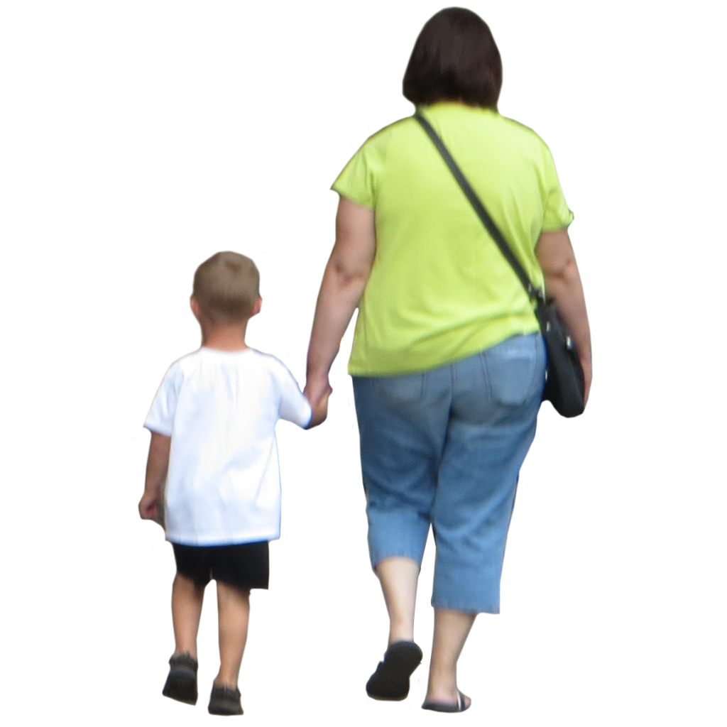 Kid And Mom PNG - 168622