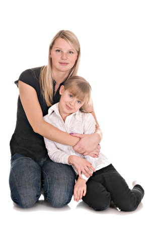 Kid And Mom PNG - 168625
