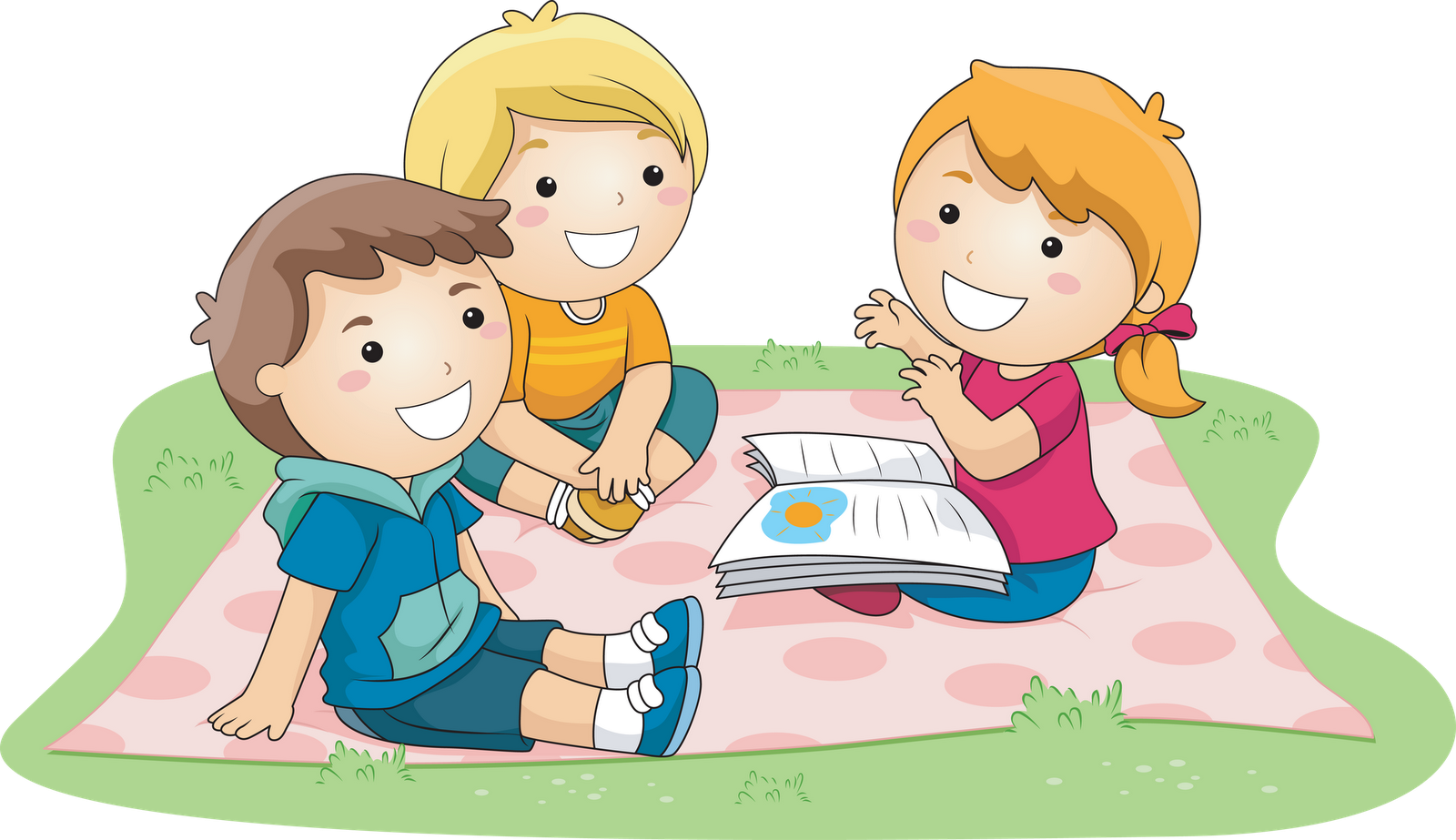 Kids Outside Reading - Kid In Bed PNG HD