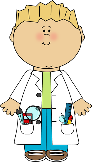 Boy scientist - Kid Mad Scientist PNG