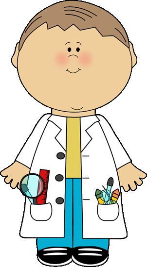 Kid Mad Scientist Clipart - Kid Mad Scientist PNG