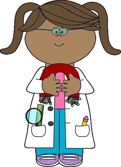 Kid Scientist with a Magnet Clip Art - Kid Scientist with a Magnet - Kid Mad Scientist PNG