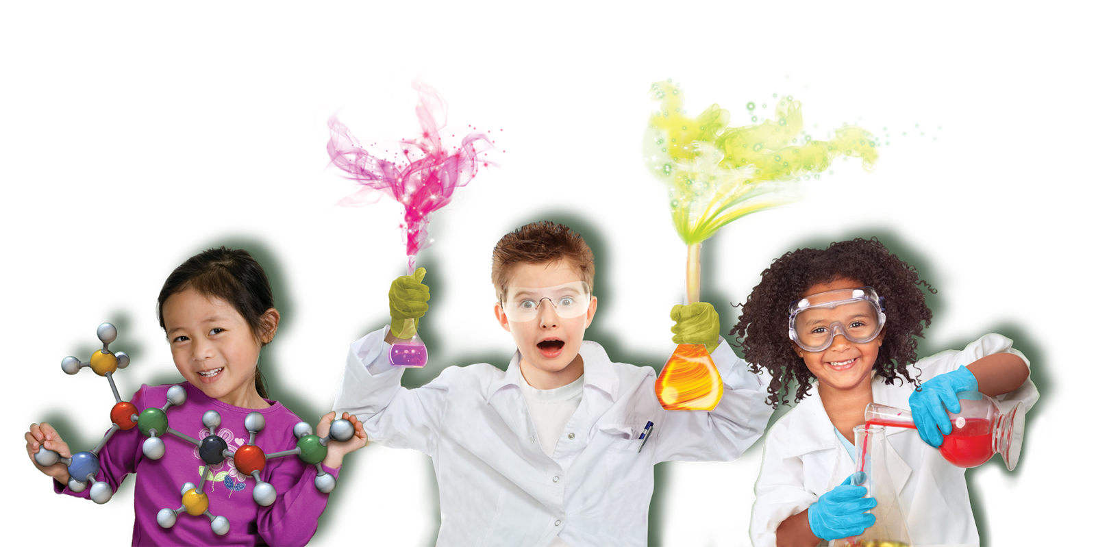 Mad Science Camps - Kid Mad Scientist PNG