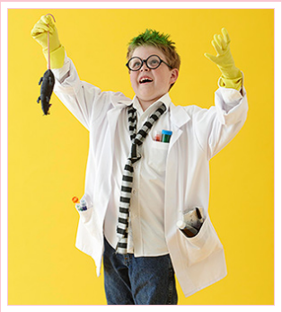 mad scientist costume for kids - Kid Mad Scientist PNG