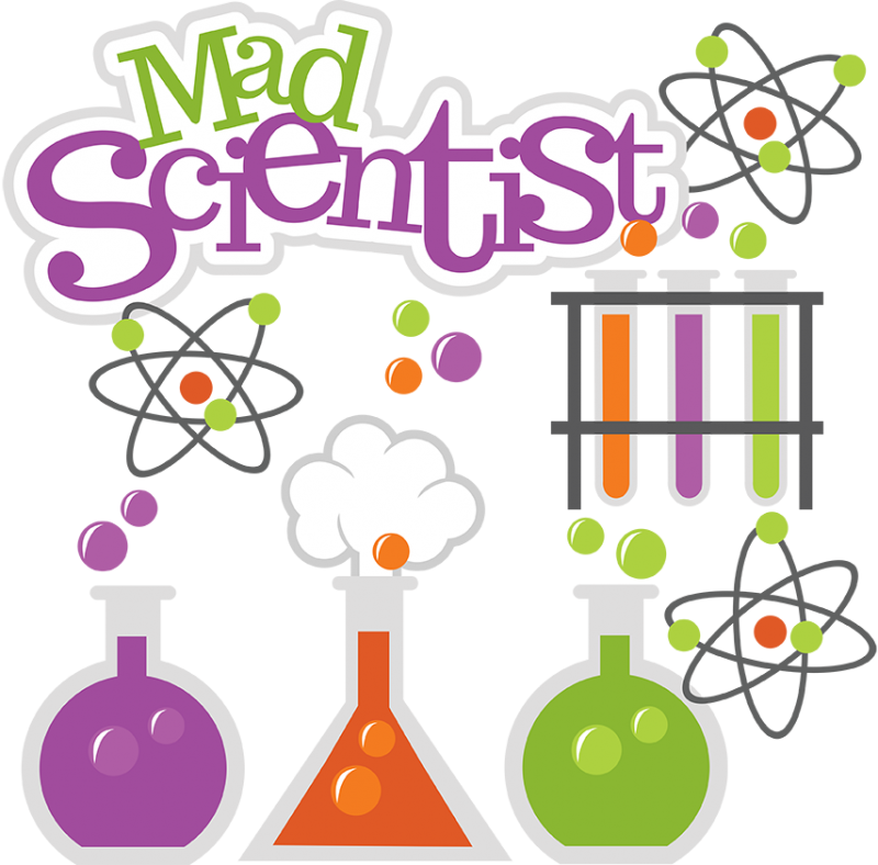 Kid Mad Scientist PNG
