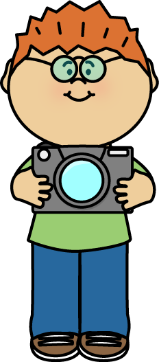 FREE Boy holding a camera by MyCuteGraphics - Kid With Camera PNG