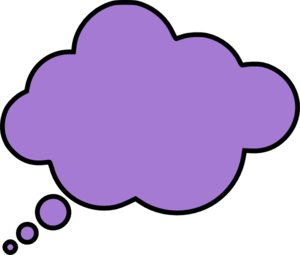 Thought Bubble Clip Art - Kid With Thought Bubble PNG