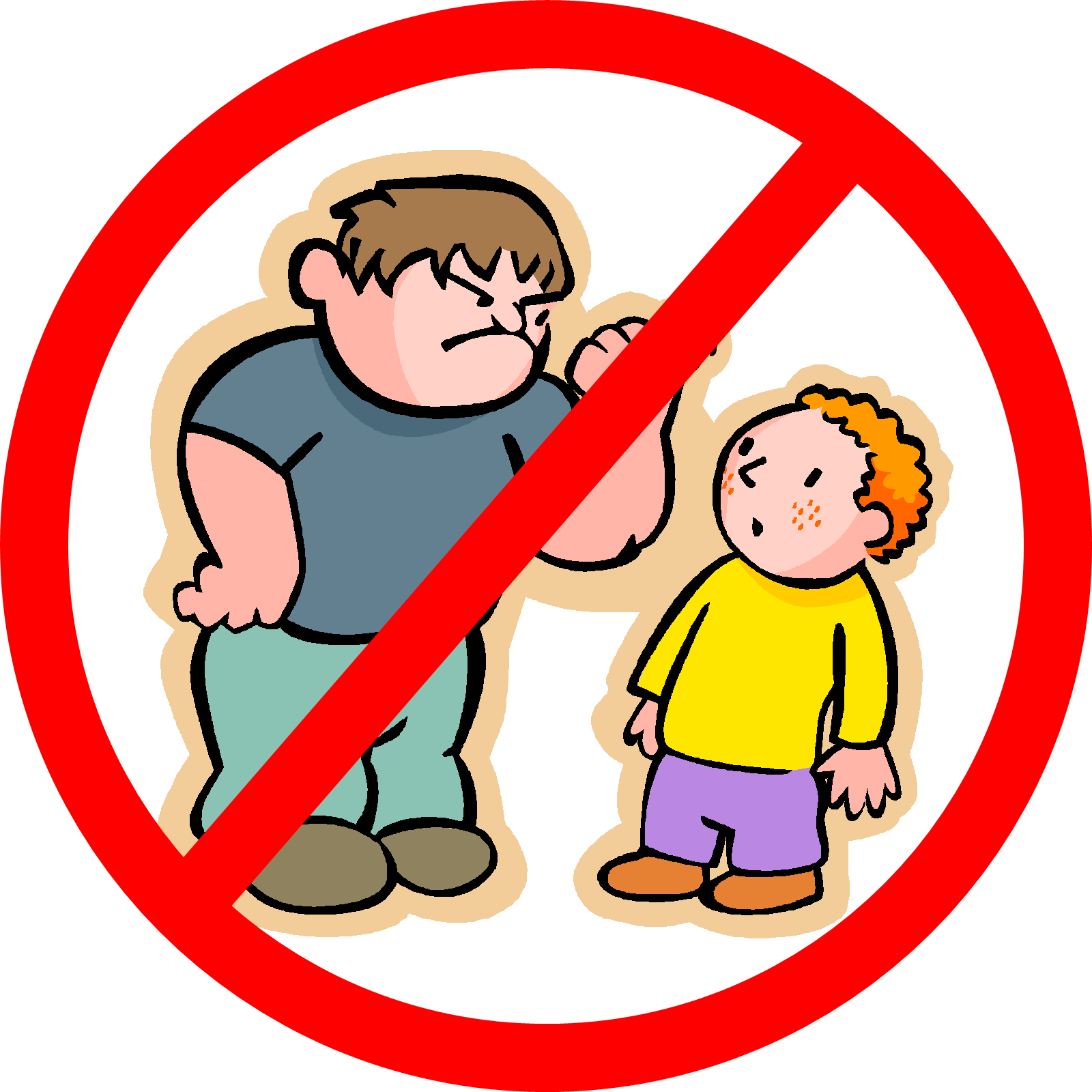 Being A Bully Clipart - Kids Being Nice PNG