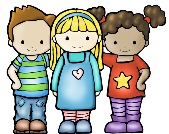 Nice Kid Clipart · Cute Colors Clip Art - Kids Being Nice PNG