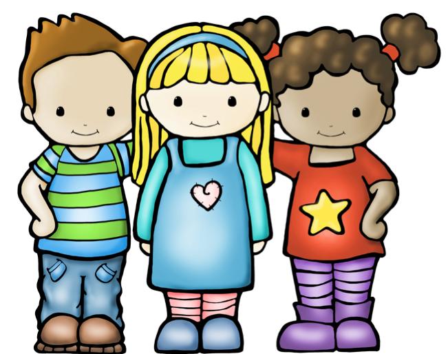 Kids Being Nice PNG - 78527