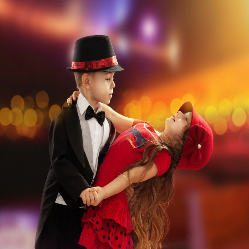 Kids And Ballroom Dance - Kids Dancing PNG HD