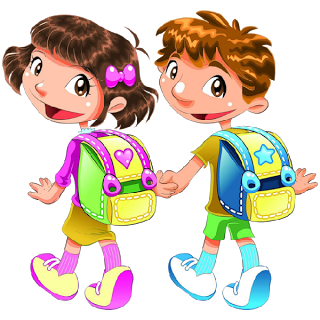 Fun School Cliparts #2466033 - Kids Having Fun At School PNG