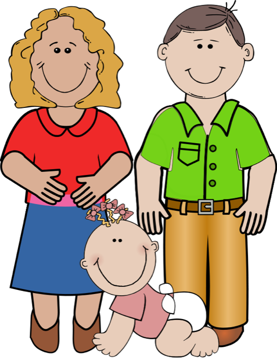 Parents Clipart Png - Kids Smiling PNG HD
