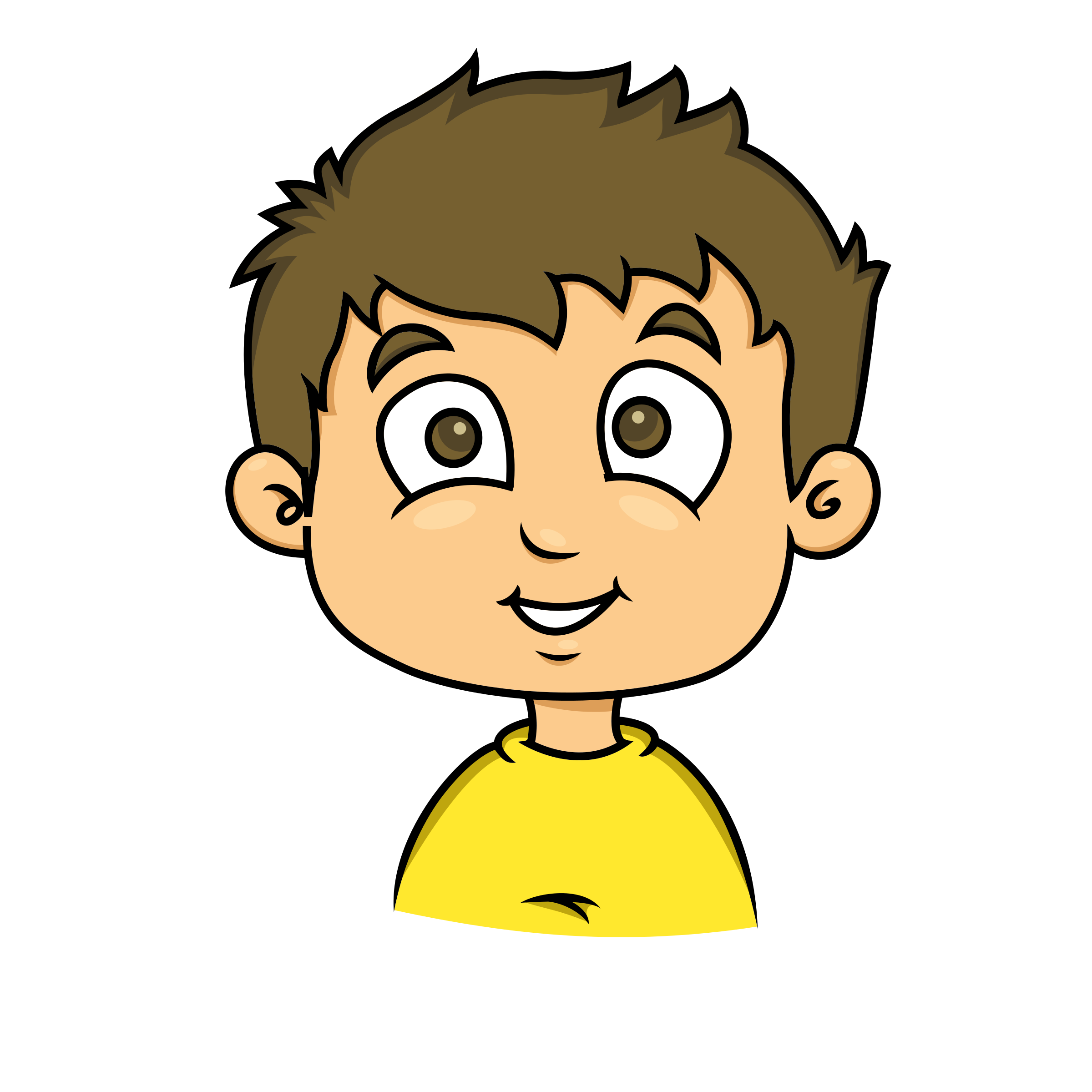 Smiling Face Child - Clipart Library - Clipart Library - Kids Smiling PNG HD