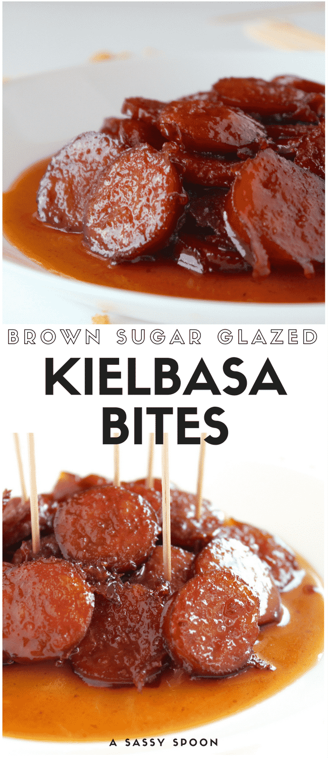 With just 3 ingredients, these Brown Sugar Glazed Kielbasa Bites will be  your favorite appetizer - Kielbasa PNG