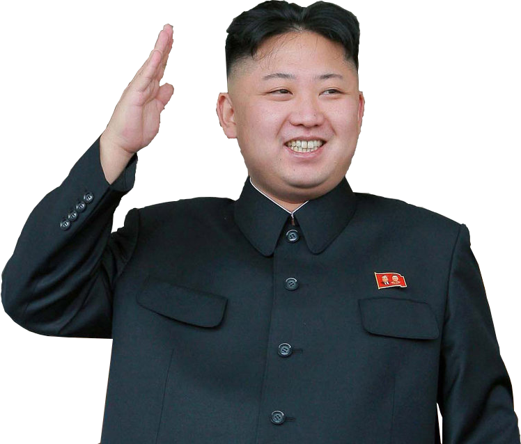 Kim Jong Un PNG - 44518