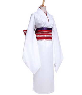 Branco kimono robe para as mulheres anime trajes quimono japonês para as  mulheres longo kimono japão - Kimono Dress PNG