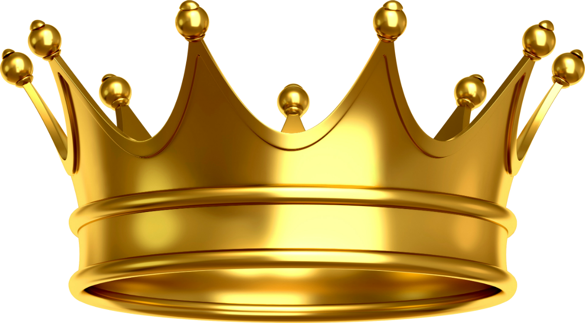 Crown Gold Hd Png Clipart - King Crown PNG HD