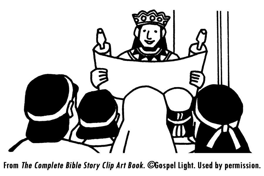 King Josiah Scroll Coloring Page Coloring Pages