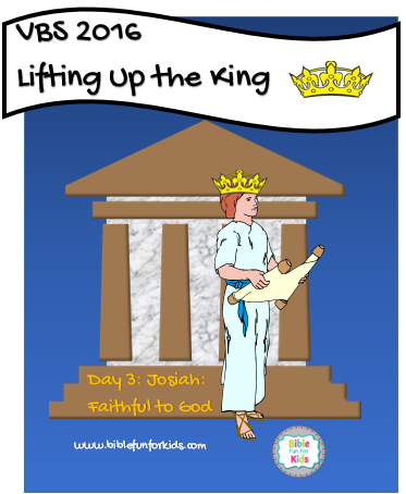 Lifting Up the King VBS: King Josiah - King Josiah PNG