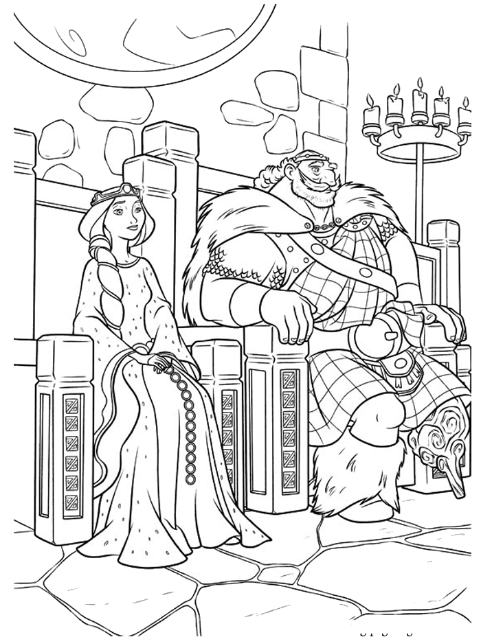 700x928 Kings And Queens Were Sitting On Throne Kings, Queens and - King On Throne PNG Black And White