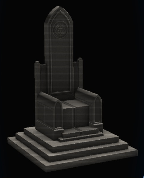 Kingu0027s Throne.png - King On Throne PNG Black And White