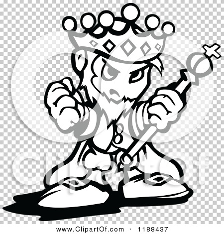 Rasters .jpg .png - King On Throne PNG Black And White