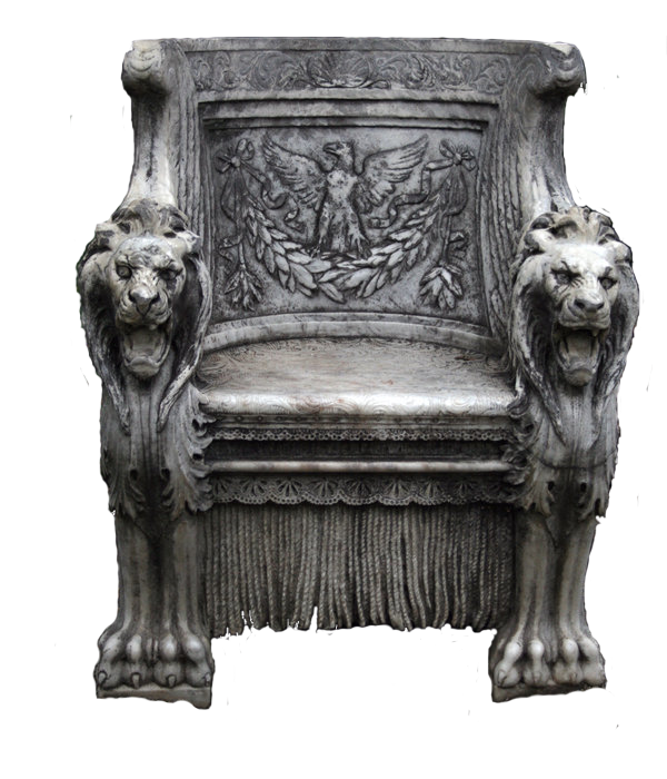 Throne Png by xXDeliteXx PlusPng.com  - King On Throne PNG Black And White