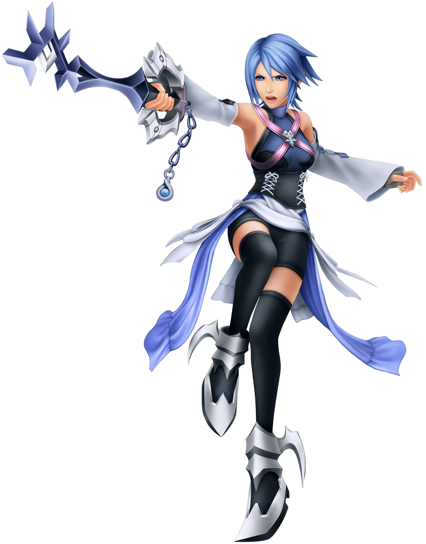 Aqua KH.png - Kingdom Hearts PNG