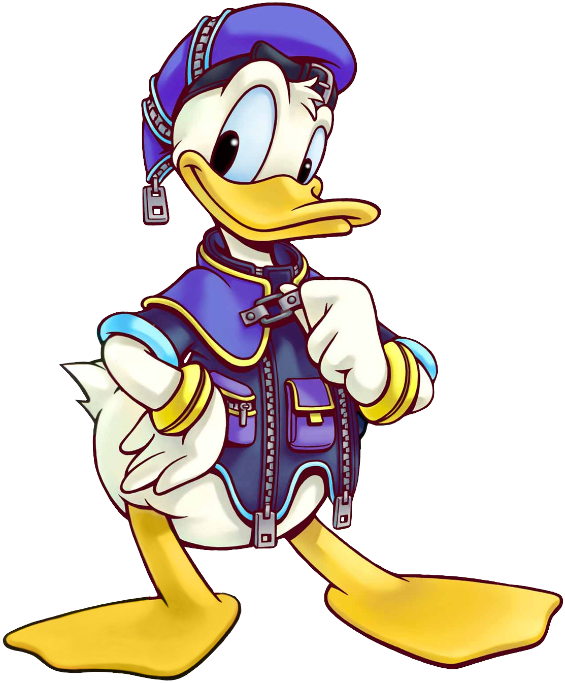 Donald (Art) KH.png - Kingdom Hearts PNG