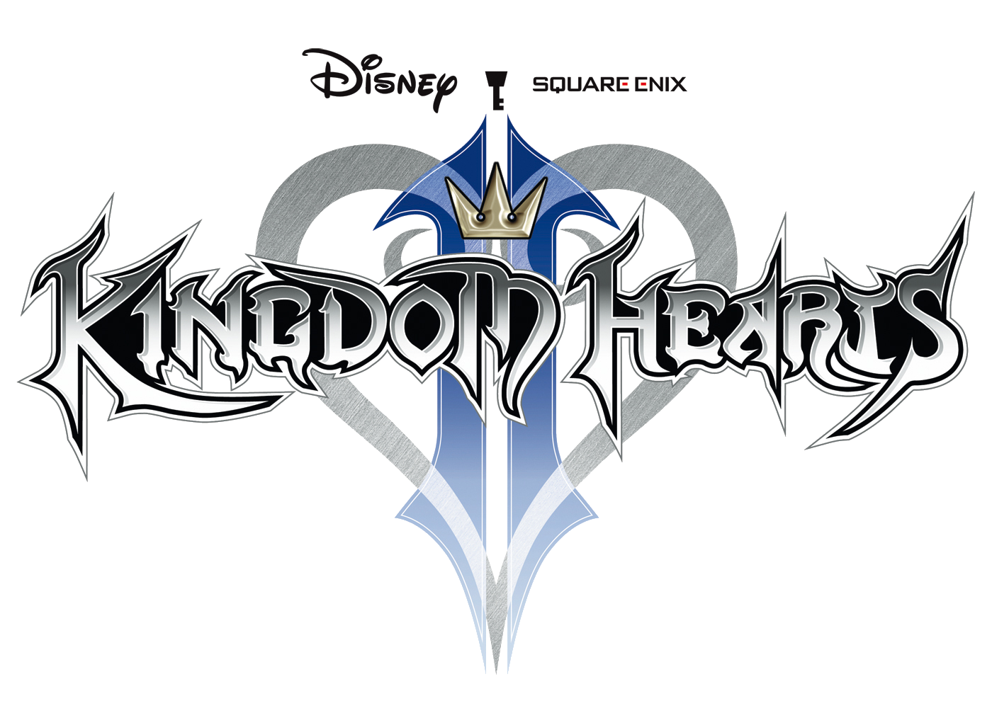 File:Kingdom Hearts II Logo KH.png - Kingdom Hearts PNG