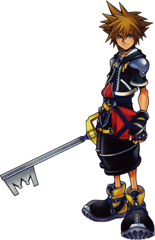 File:Sora Kingdom Hearts.png - Kingdom Hearts PNG