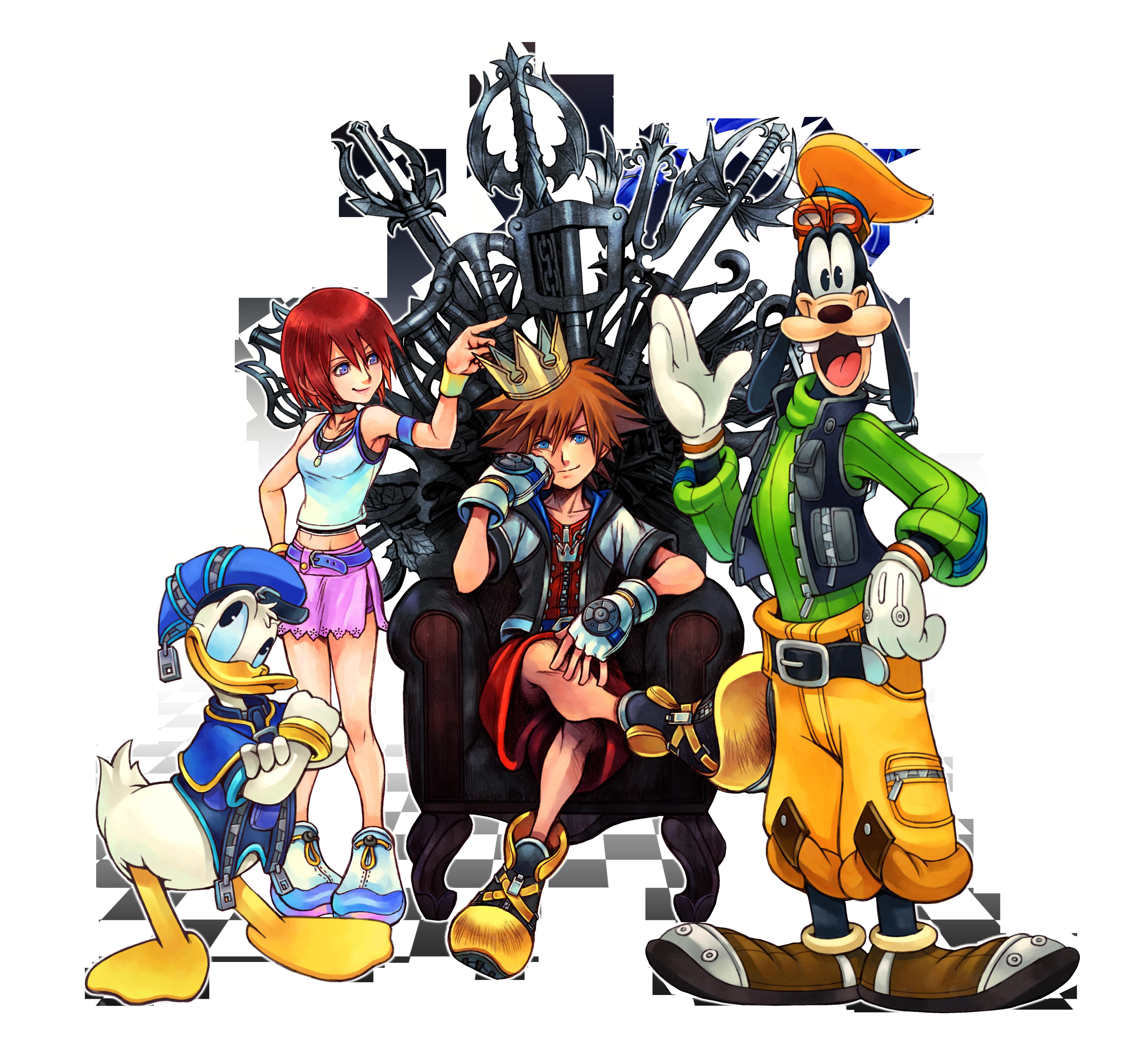 KH1.png PlusPng.com  - Kingdom Hearts PNG