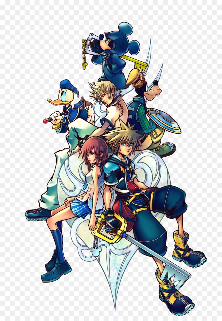 Kingdom Hearts II Kingdom Hearts: Chain of Memories Kingdom Hearts 358/2  Days Kingdom Hearts Birth by Sleep - kingdom hearts - Kingdom Hearts PNG