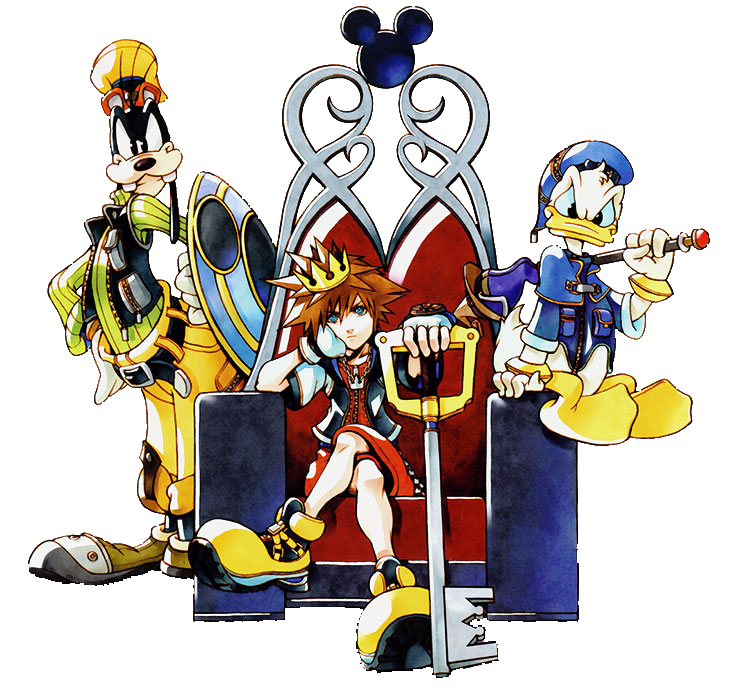 Kingdom Hearts PNG by AeroRyuu PlusPng.com  - Kingdom Hearts PNG