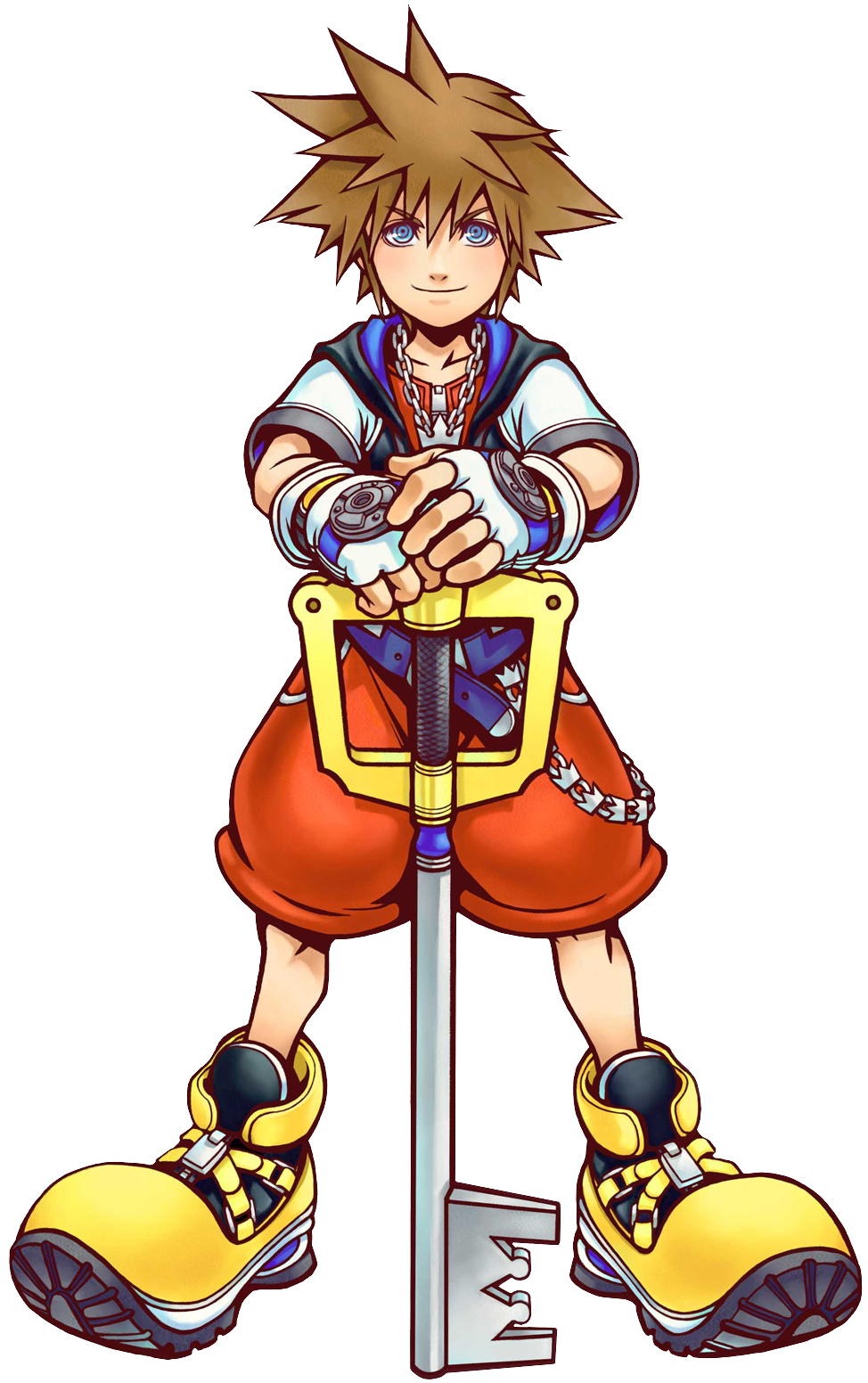 Sora 2 (Art) KH.png - Kingdom Hearts PNG