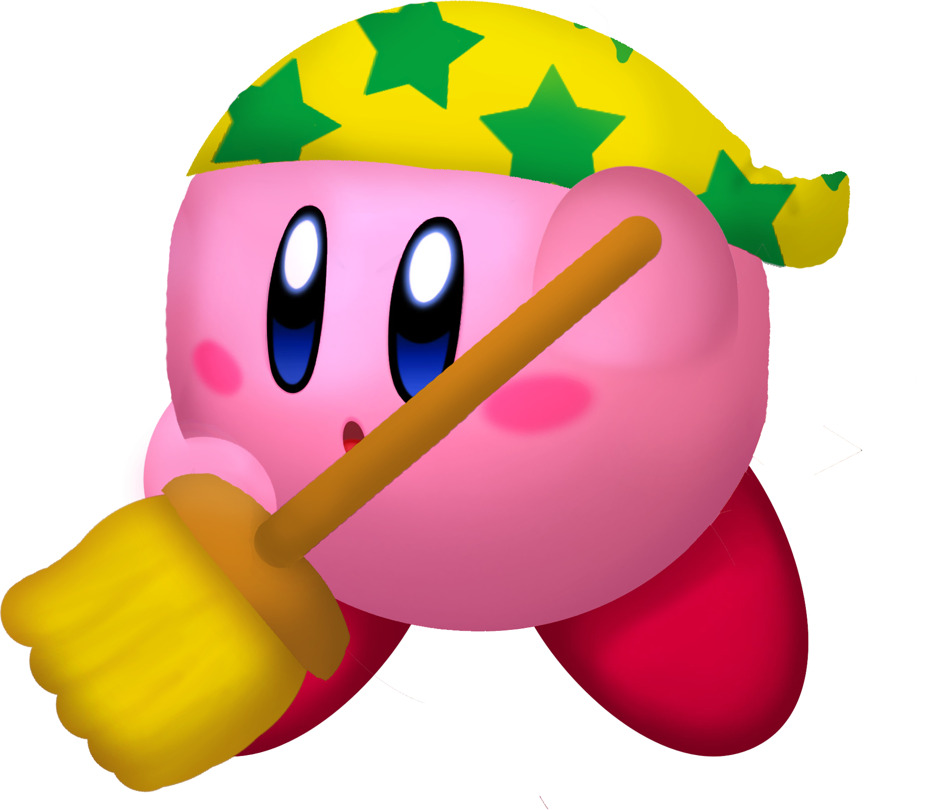 Clean Kirby KDL3D.png - Kirby PNG