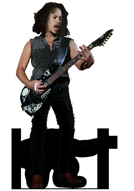 Kirk Hammett PNG - 7694