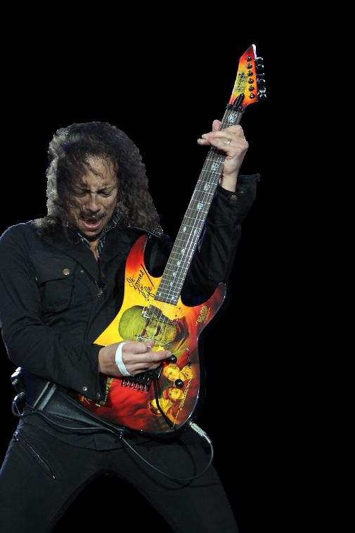 Kirk Hammett PNG - 7693
